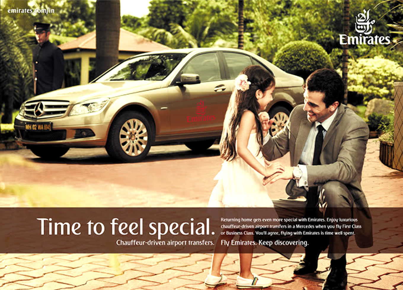 Special Time Print Advertising, Keep Discovering Marketing Campaign by Emirates