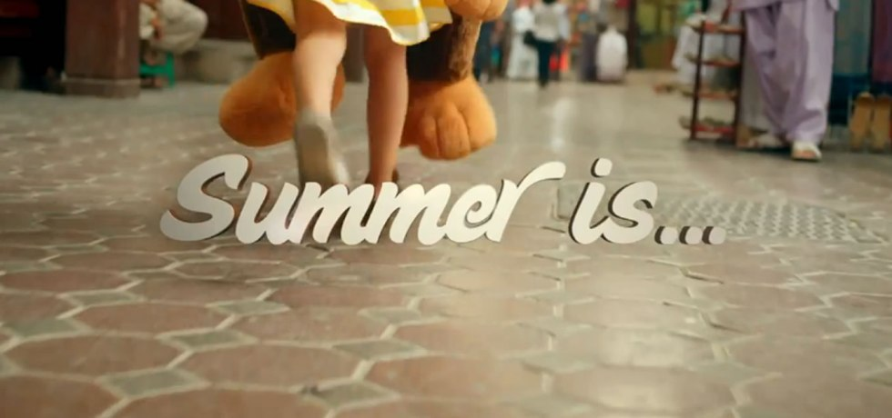 Summer is Dubai as Tourism Destination Advertising Campaign by DTCM and DEPE
