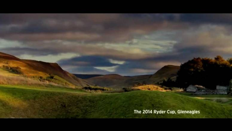 The 2014 Ryder Cup, Gleneagles, at Brilliant Moments Campaign