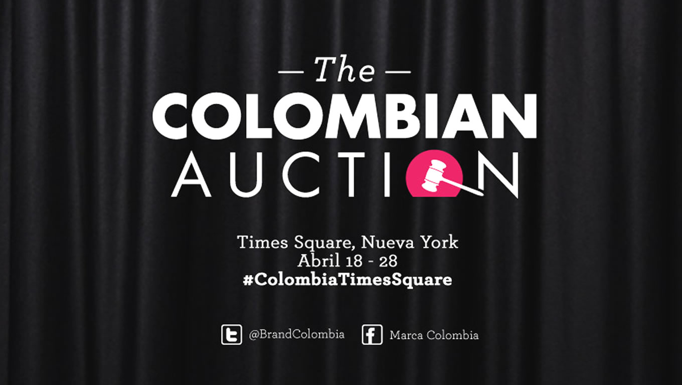 The Colombian Auction Marketing Campaign by Colombia Country Brand