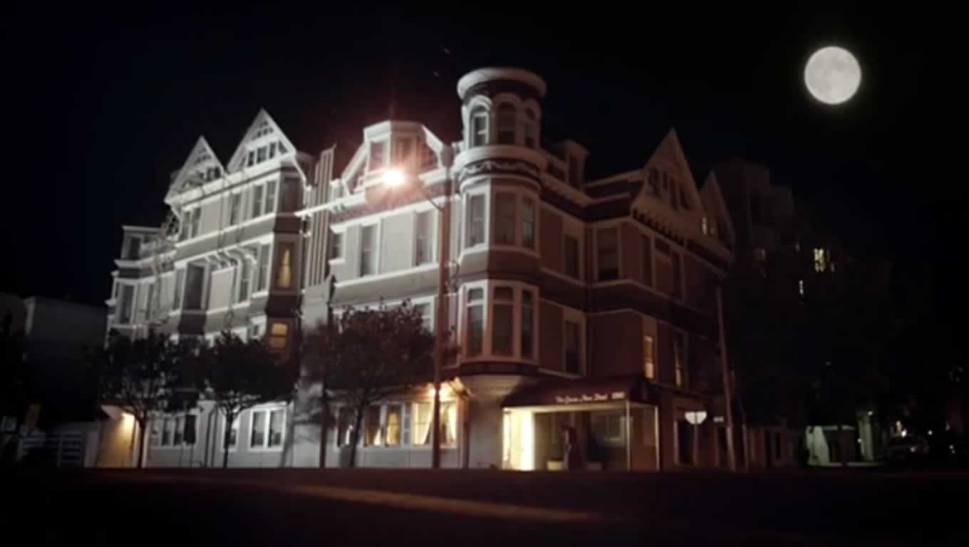 The Queen Anne Hotel at Haunted Hotels Campaign by Booking Dot Com