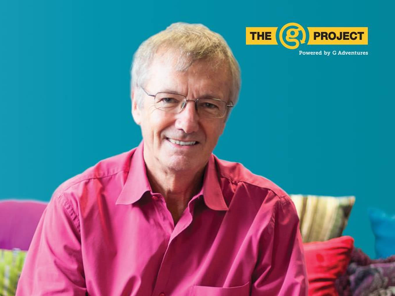 Tony Wheeler, The Lonely Planet Founder as G Project Judge