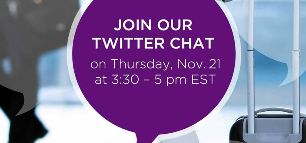 Twitter Chat Invitation for Seamless Travel Campaign by Hyatt Place