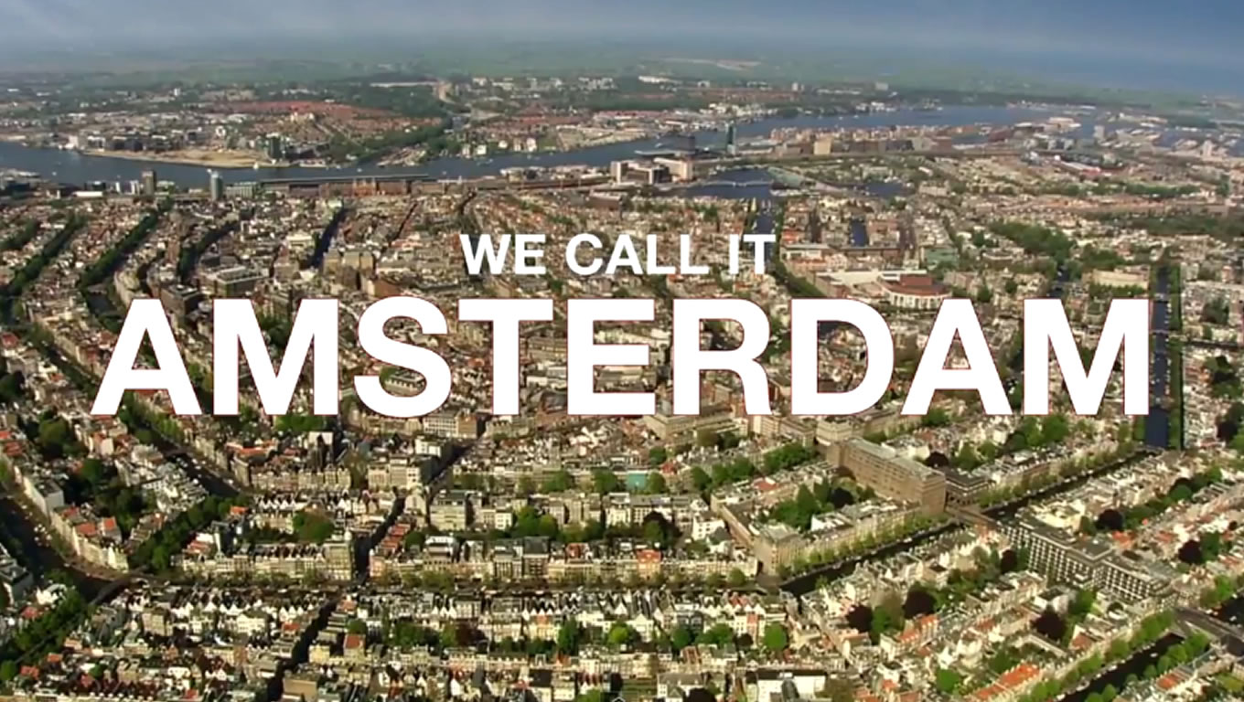 Visit Amsterdam at Holland The Original Cool Marketing Campaign of Netherlands