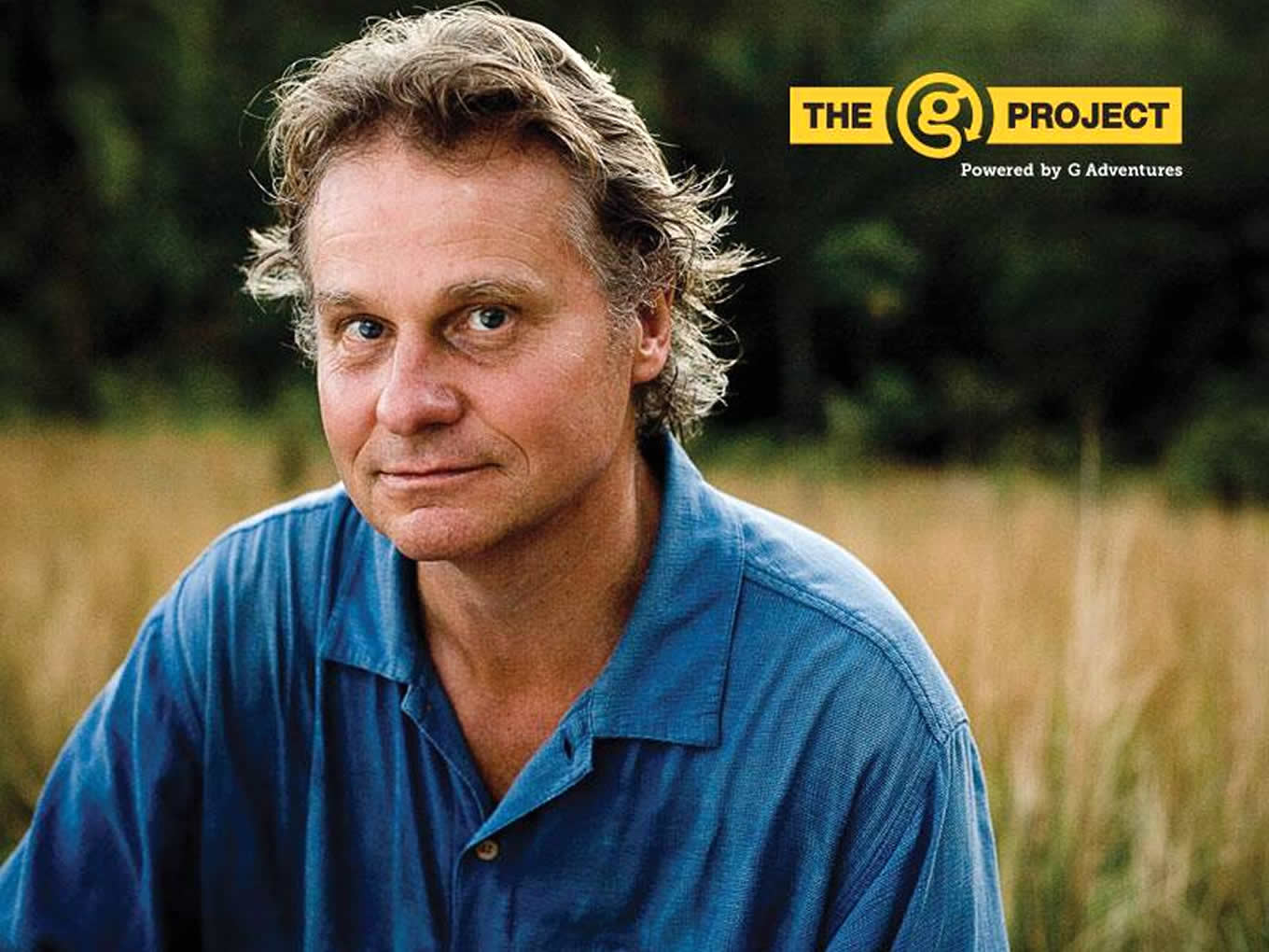 Wade Davis, National Geographic Explorer in Residence as G Project Judge