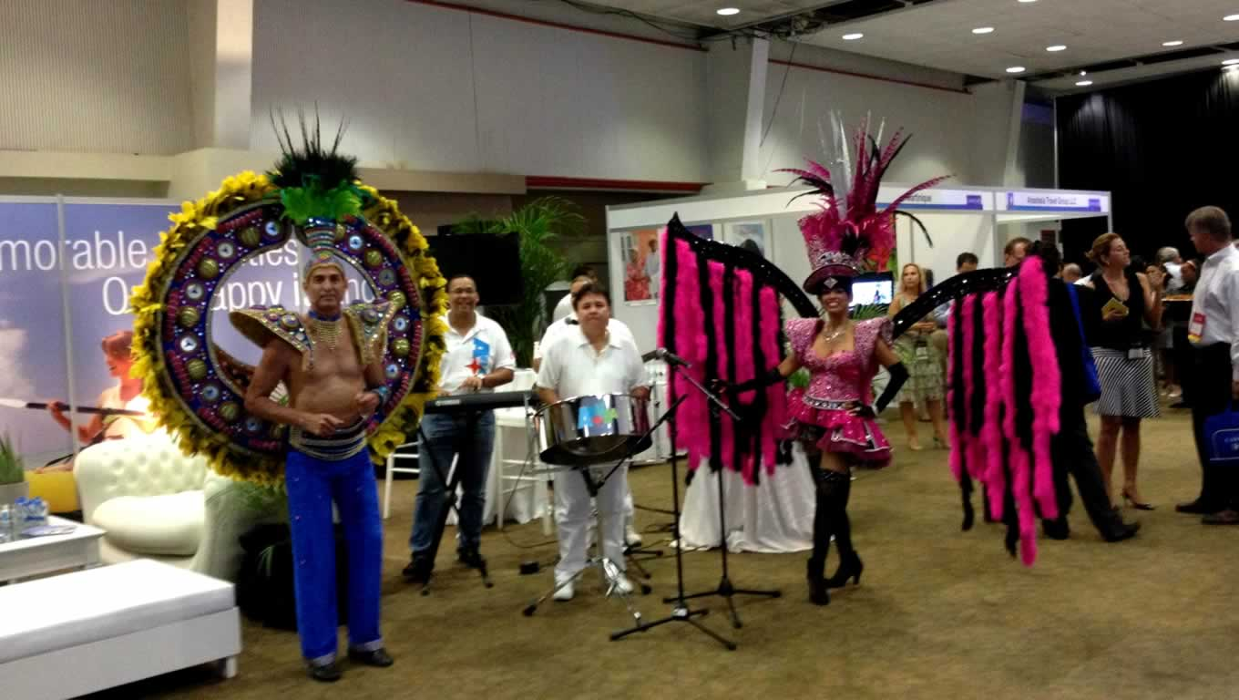 Aruba Tourism at FCAA Cruise Conference and Trade Show in Curacao