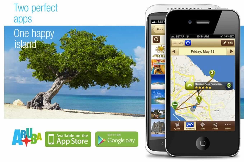 Aruba Travel App as Mobile Tourism Marketing Campaign Tool