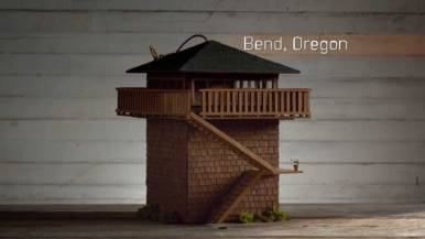Bend Home Design Oregon, Birdbnb Marketing Campaign by Airbnb