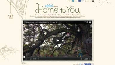 Bird as Ultimate Traveler, Birdbnb Home to You Campaign by Airbnb