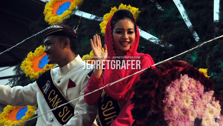 Cak and Ning Surabaya, Culture Parade and Flower Carnival, Surabaya
