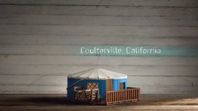 Coulterville Home Design California, Birdbnb Marketing Campaign by Airbnb