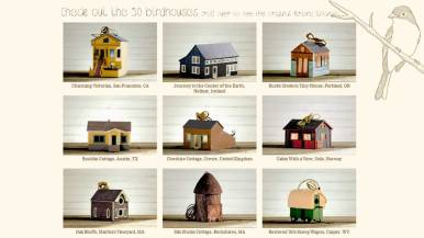 Custom Birdhouse Design, Birdbnb Home to You Campaign by Airbnb