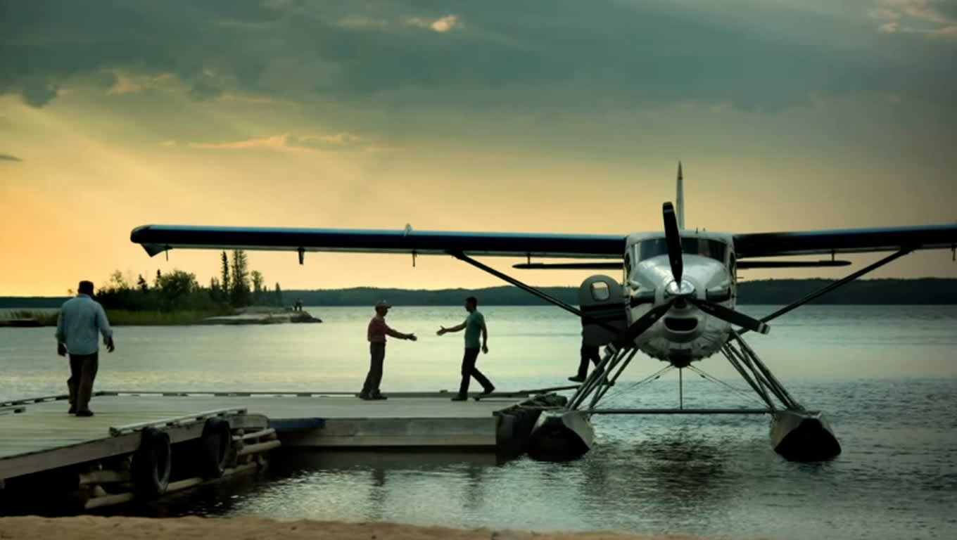 Fly In Fishing, Manitoba Canada Heart Beats Campaign