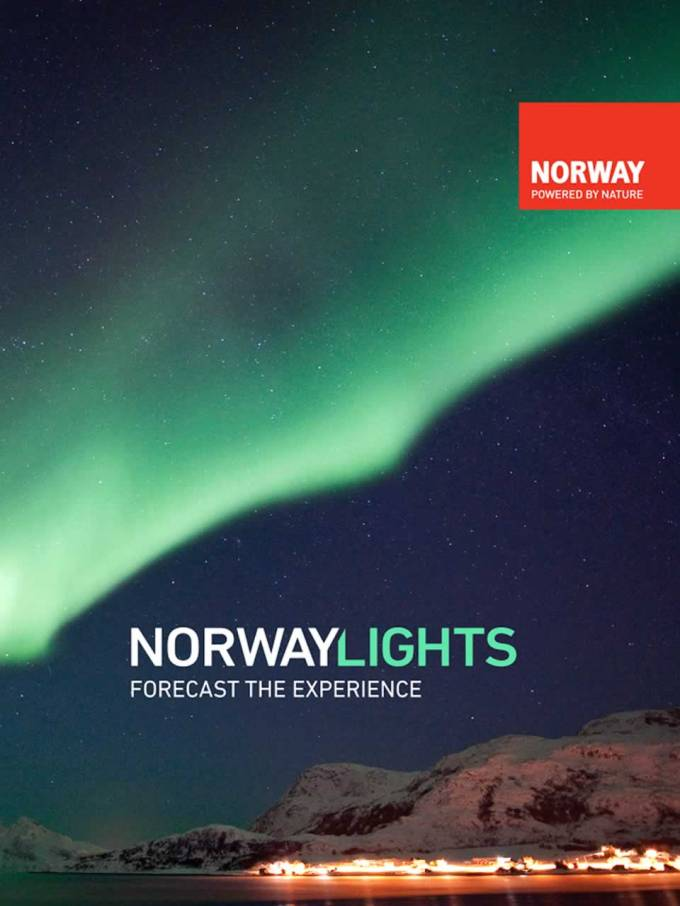 Forecast The Experience of Northern LIghts with NorwayLights App