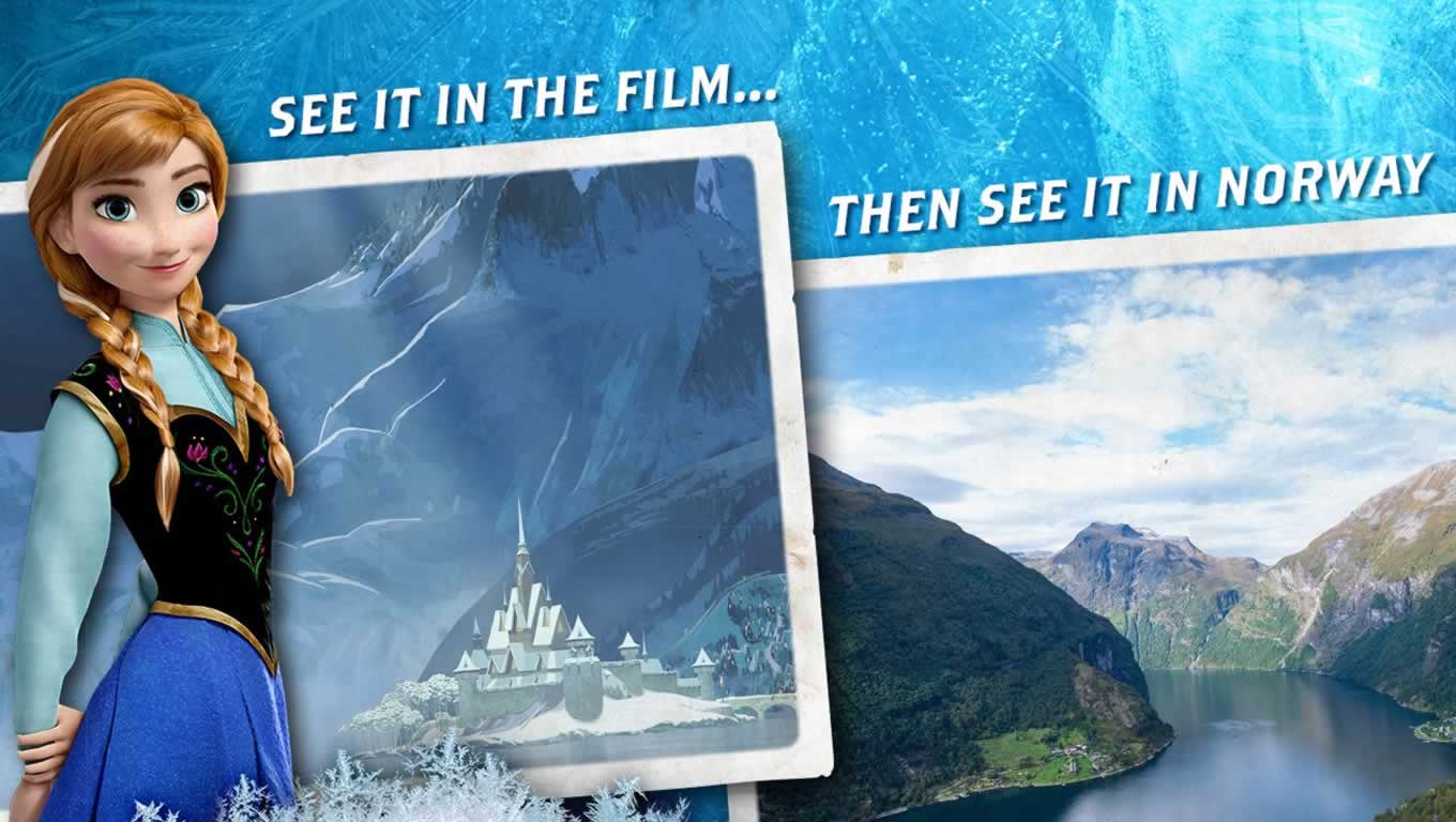Frozen Adventure Advertising Campaign by VisitNorway