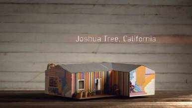 Joshua Tree House California, Birdbnb Marketing Campaign by Airbnb