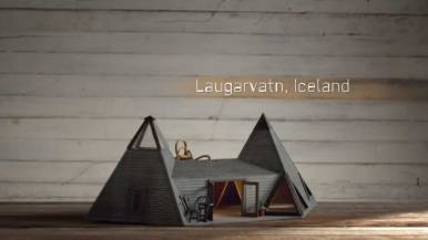 Laugarvatn Home Design Iceland, Birdbnb Marketing Campaign by Airbnb