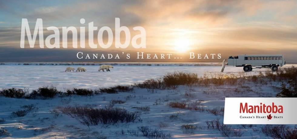 Manitoba Canada Heart Beats Campaign Slogan, Canada