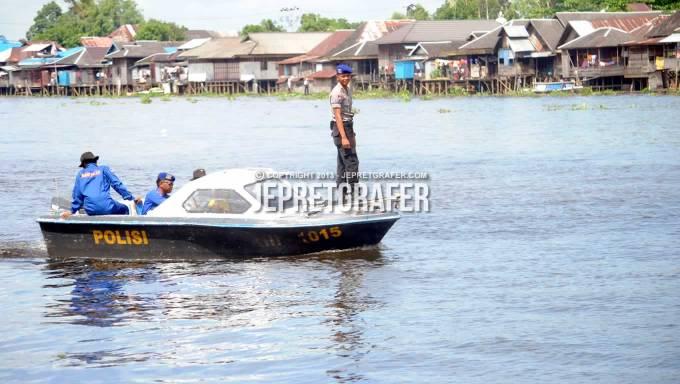 Marine Police Patrol, Dragon Boat Festival, Nagara, Hulu Sungai Selatan