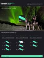 Northern Lights Forecast at NorwayLights Mobile App by Visitnorway