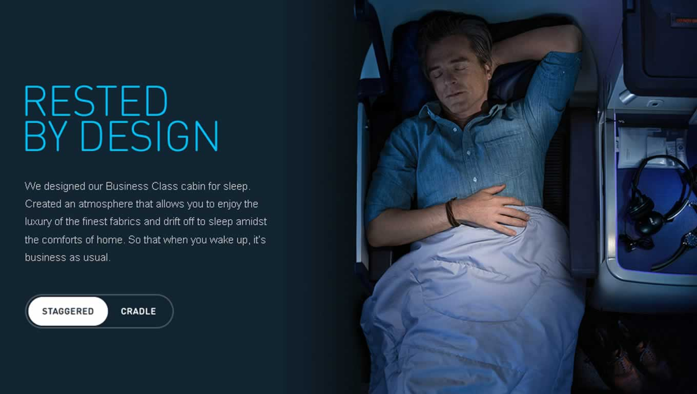 Rested by Design, By Design Campaign by All Nippon Airways