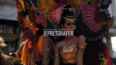 Sekolah Tinggi Kesenian Wilwatikta, Culture Parade and Flower Carnival, Surabaya