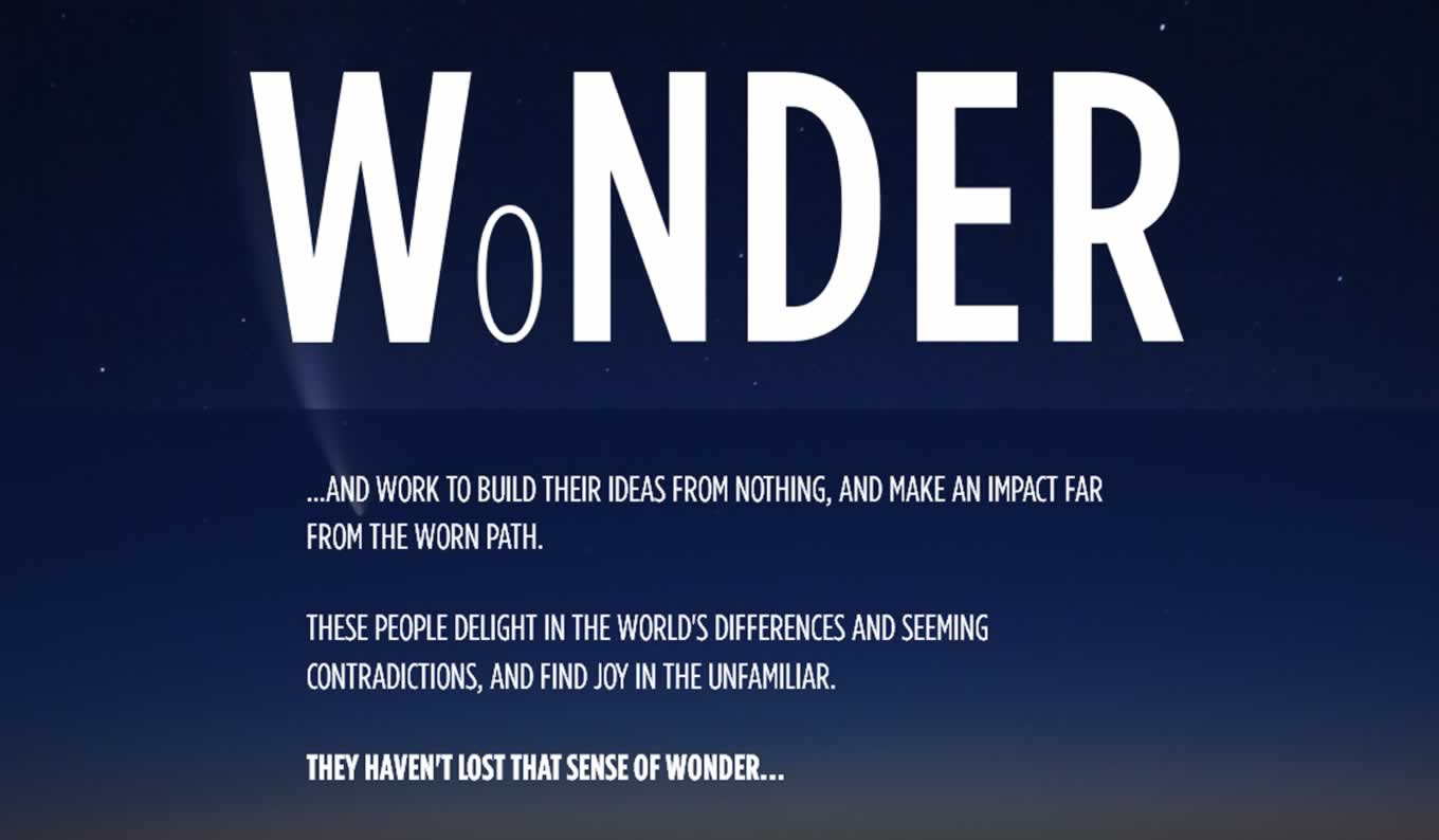Sense of Wonder, Widen Your World Campaign by Turkish Airlines