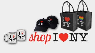 Shop I Love NY Tourism Campaign Products Promotion, New York