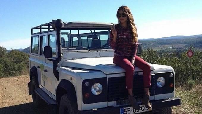 Sincerely Jules in Algarve Inlands for Conrad 555 Tour Marketing Campaign