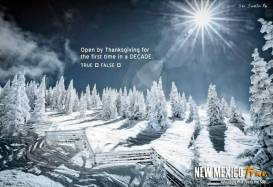 Ski Santa Fe Open by Thanksgiving of New Mexico True Winter Campaign