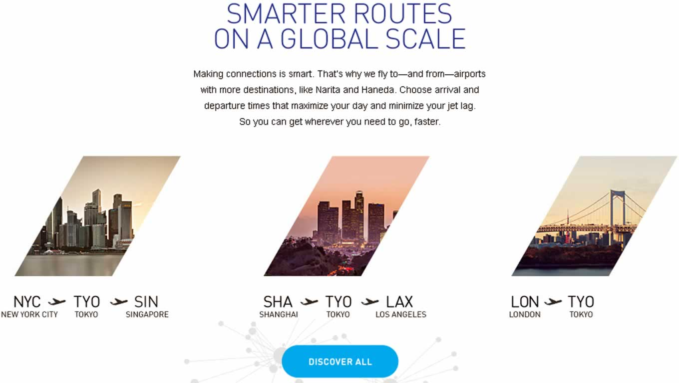 Smarter Global Routes, By Design Campaign by All Nippon Airways