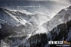 Taos Ski Valley Advertising of New Mexico True Winter Campaign
