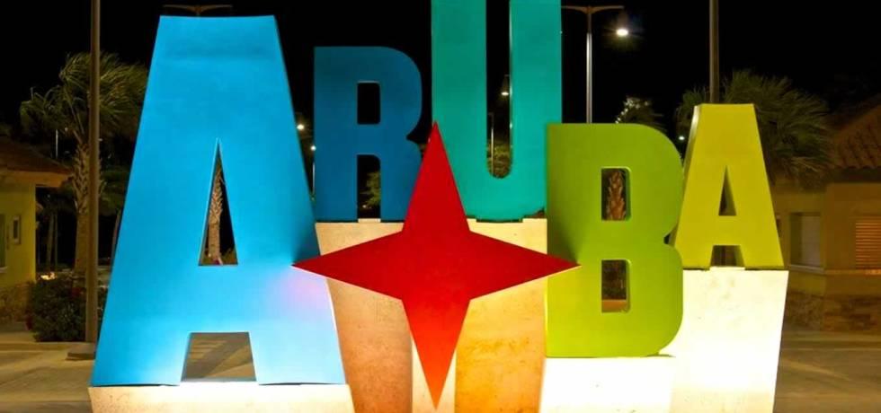 Tourism Brand Identity Logo of Aruba in Oranjestad