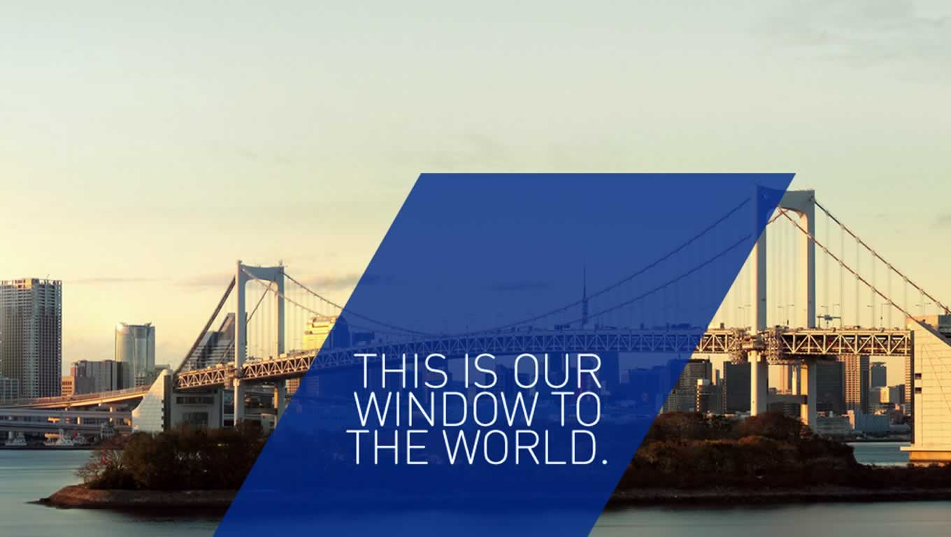 Window of The World, By Design Campaign by All Nippon Airways