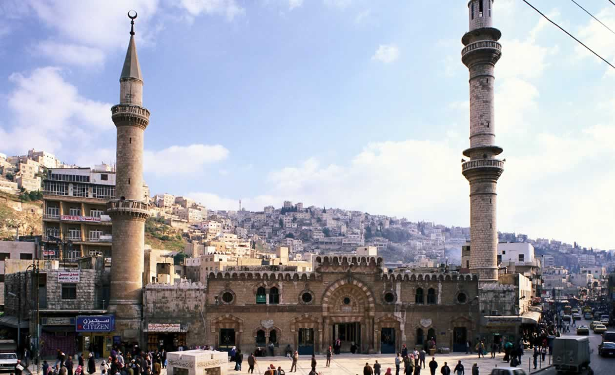 Grand Mosque Al-Husseini in Downtown Amman as Religious Tourism Destination in Jordan