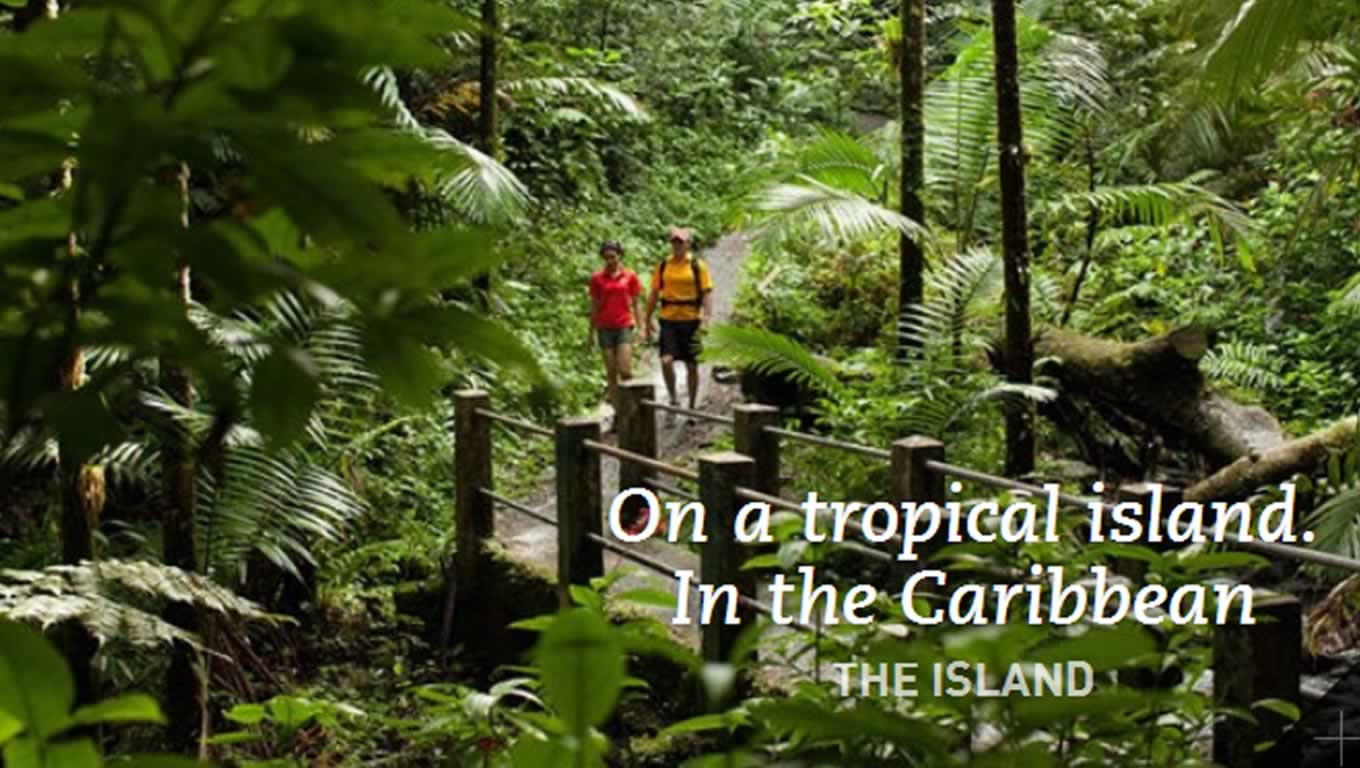 Caribbean Tropical Island Travel Campaign by Meet Puerto Rico