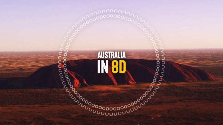Experience Australia in 8D Audio