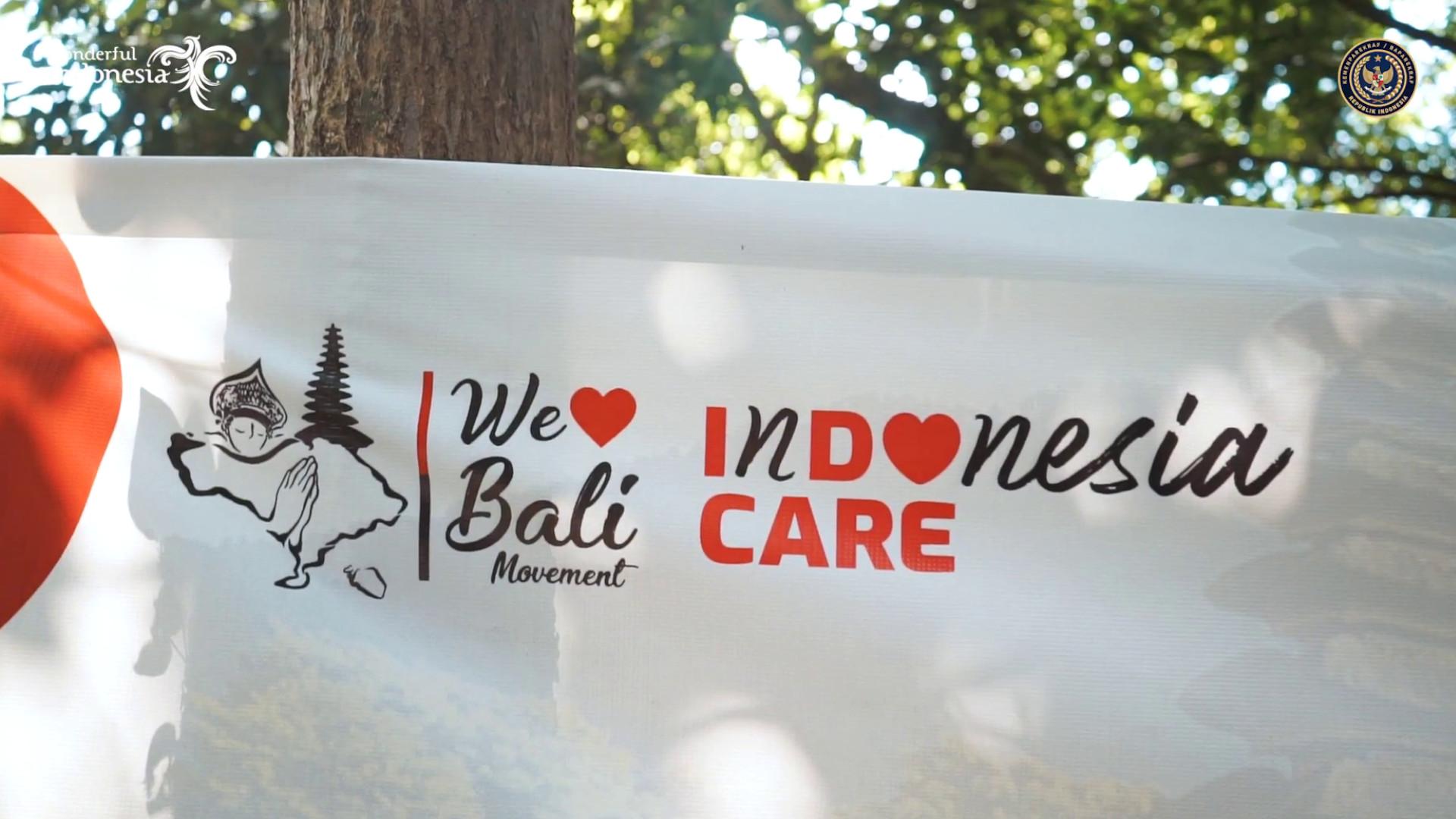 We Love Bali Educational Program Campaign by Kemenparekraf