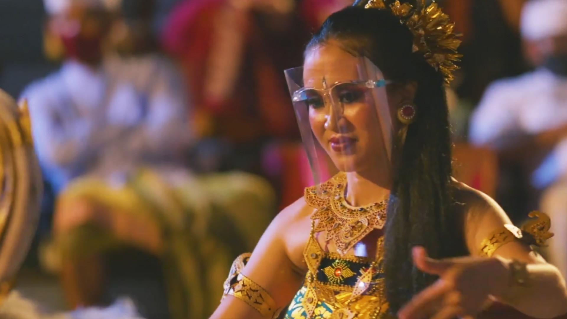 Bali Dance Performance, Dancing with Health Protocol