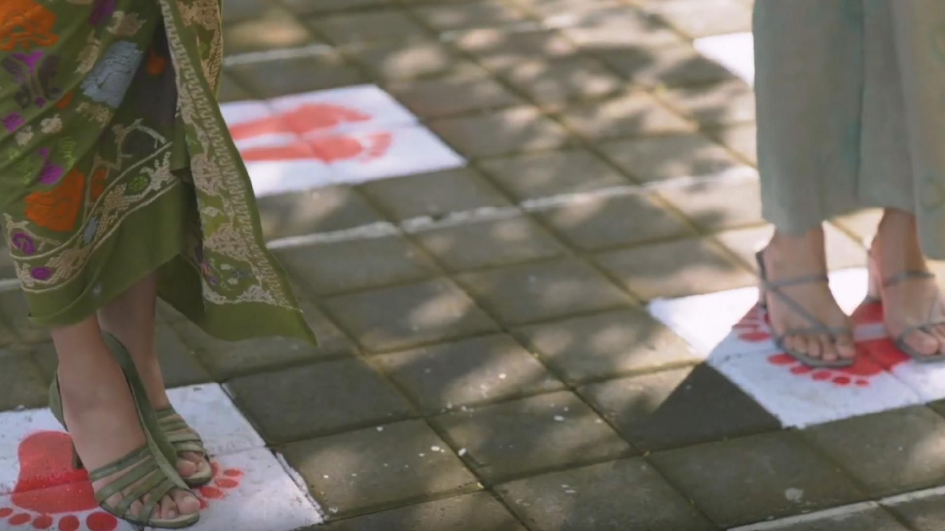 Bali Public Space, Social Distancing Mark