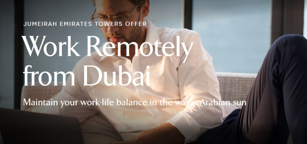 Jumeirah Discover Remote Work, Dubai
