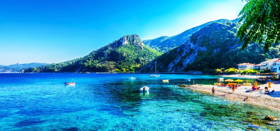 Natural Landscpae of Samos Island, Greece
