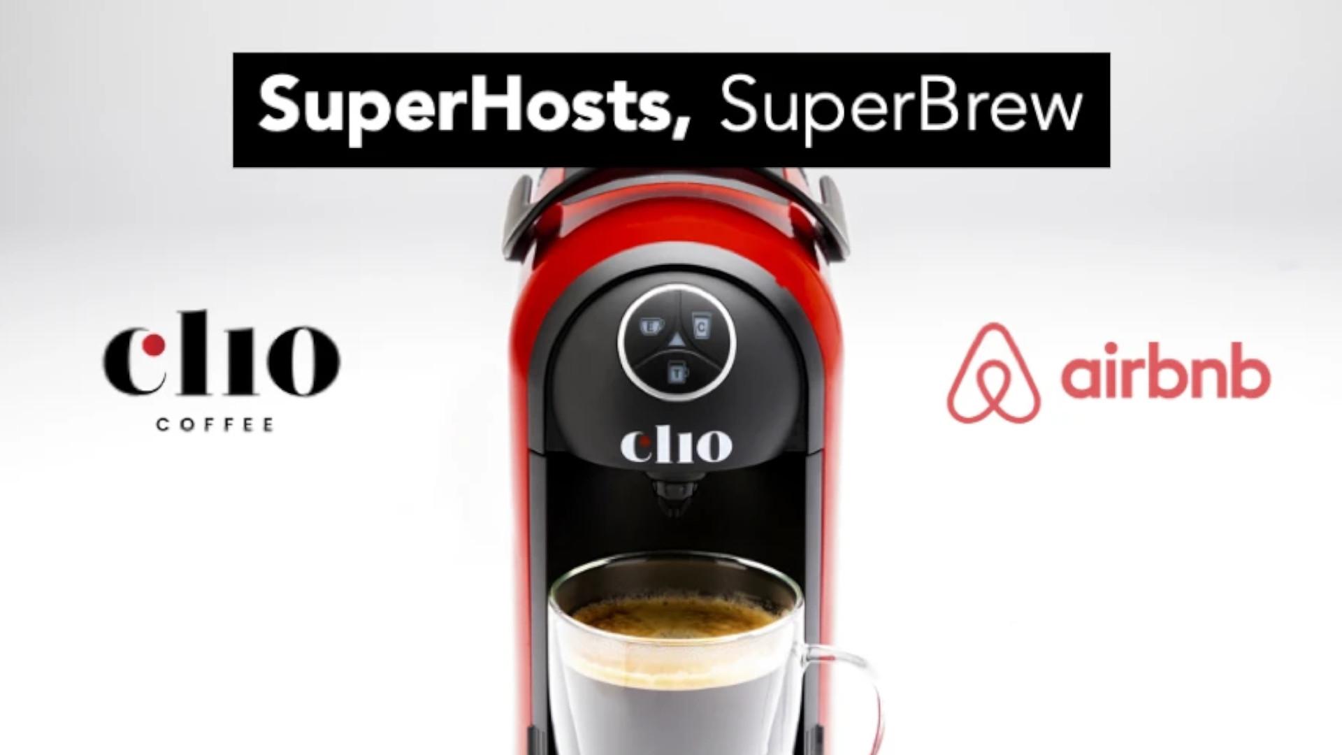SuperHosts SuperBrew Program by Clio Coffee
