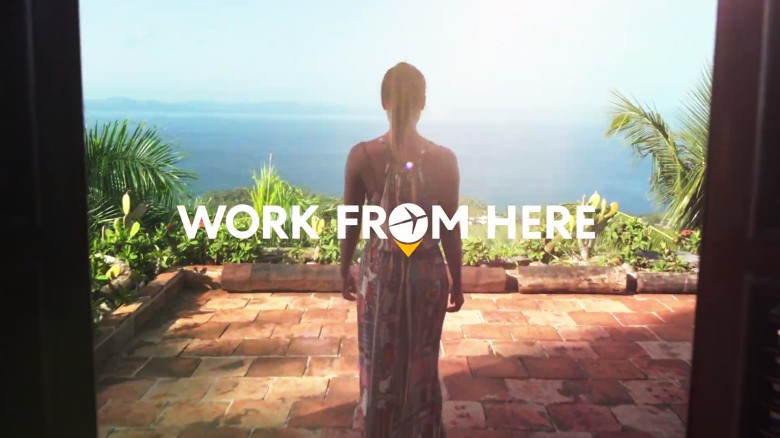 Welcome to Work from Here, Expedia Campaign