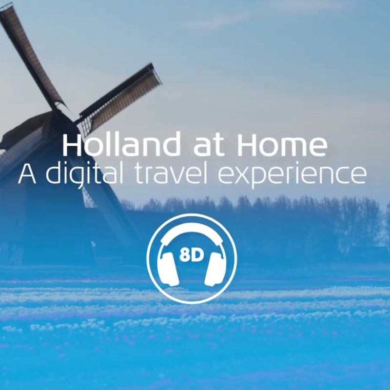 8D Sound of Holland at Home, Campaign by KLM