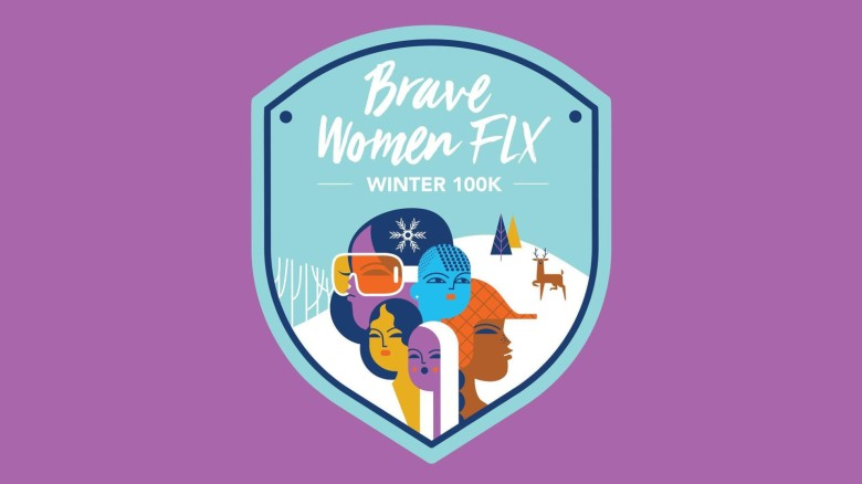 Brave Women FLX Winter Virtual 100K Challenge