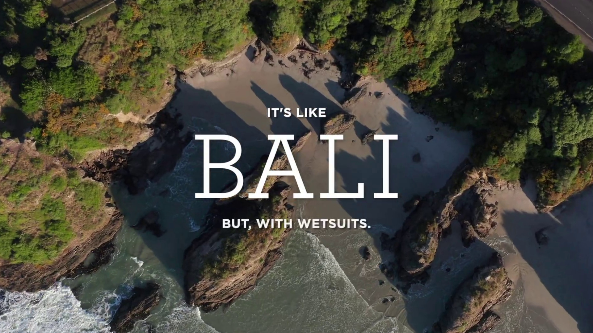 It's Like Bali, Plan D City Tourism Campaign by Dunedin NZ