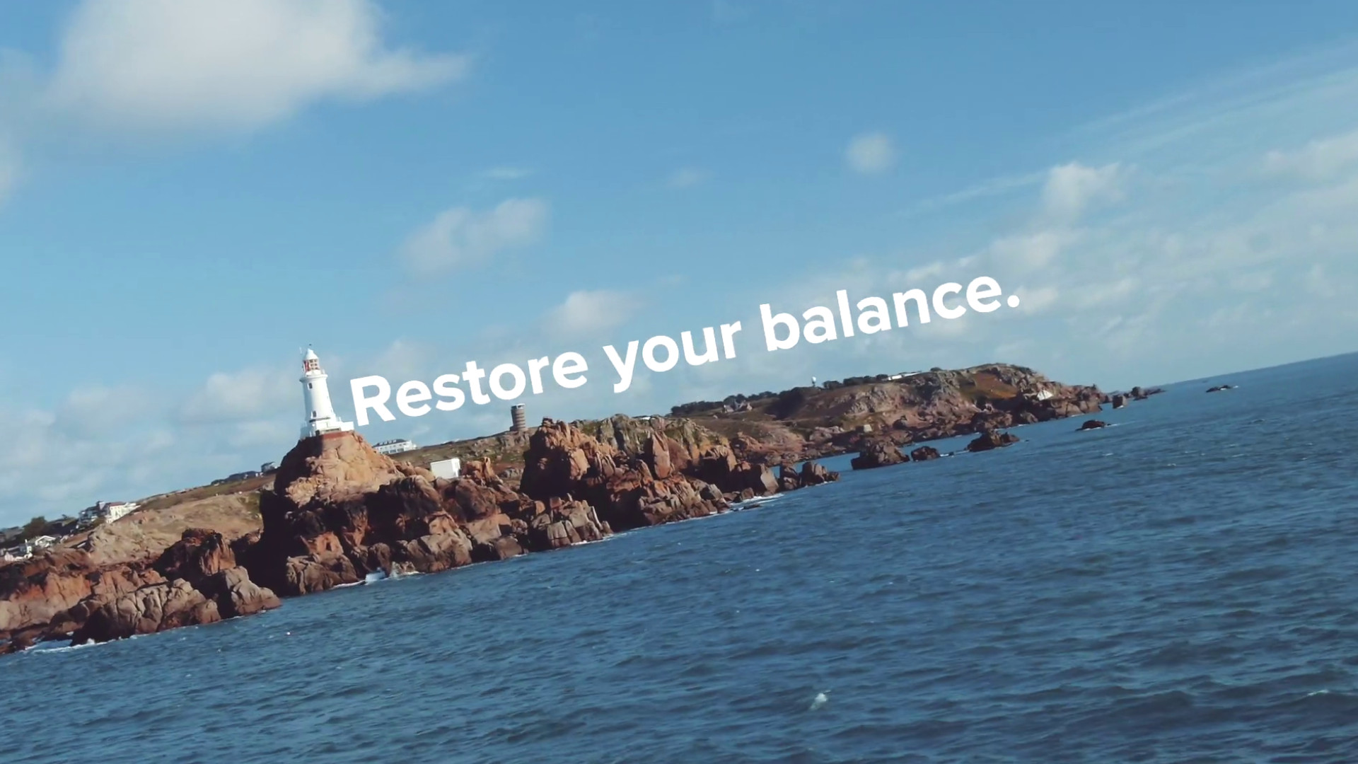 Restore Your Balance Campaign by Visit Jersey, UK