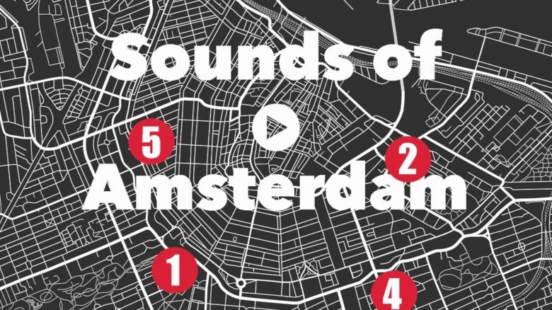 Sounds of Amsterdam 3D Audio Tours