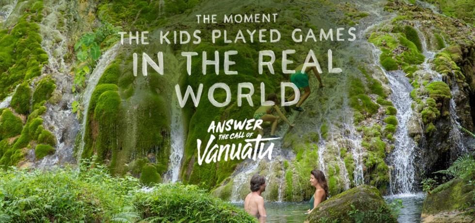Facebook Tourism Marketing Ad of Vanuatu